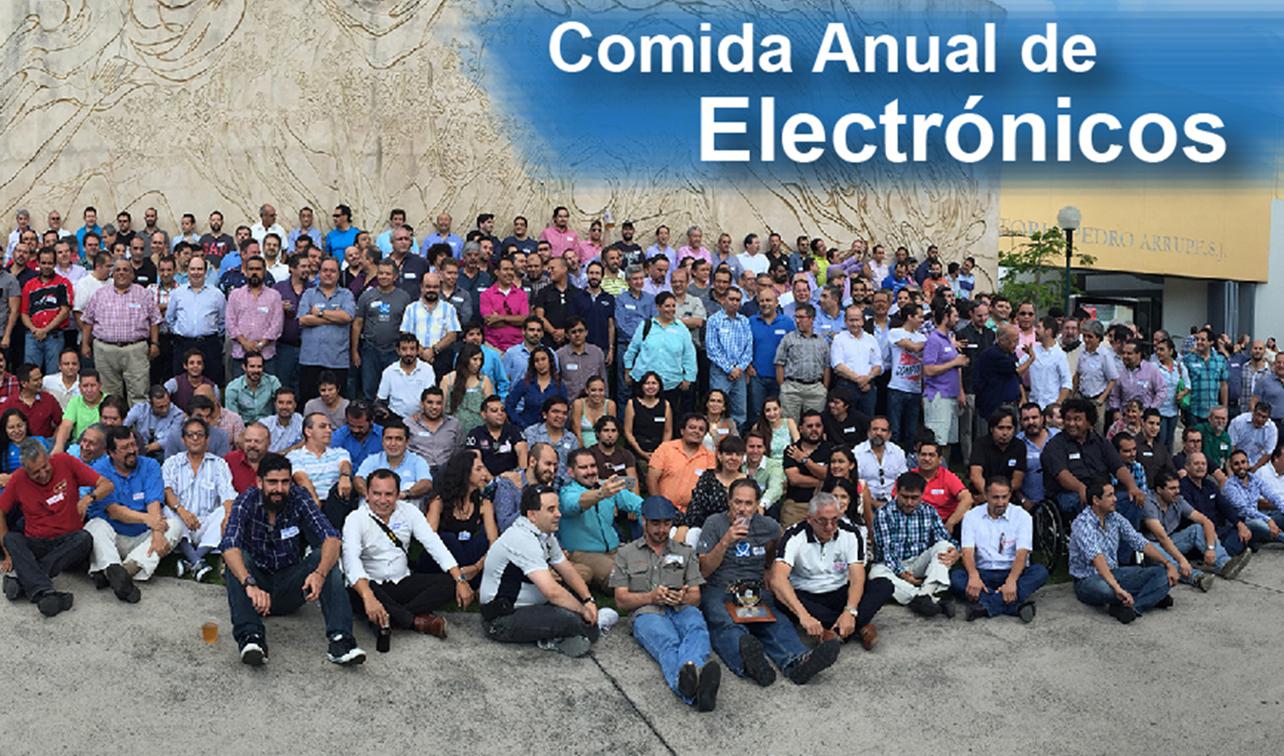 COMIDA ANUAL DE ELECTRÓNICOS