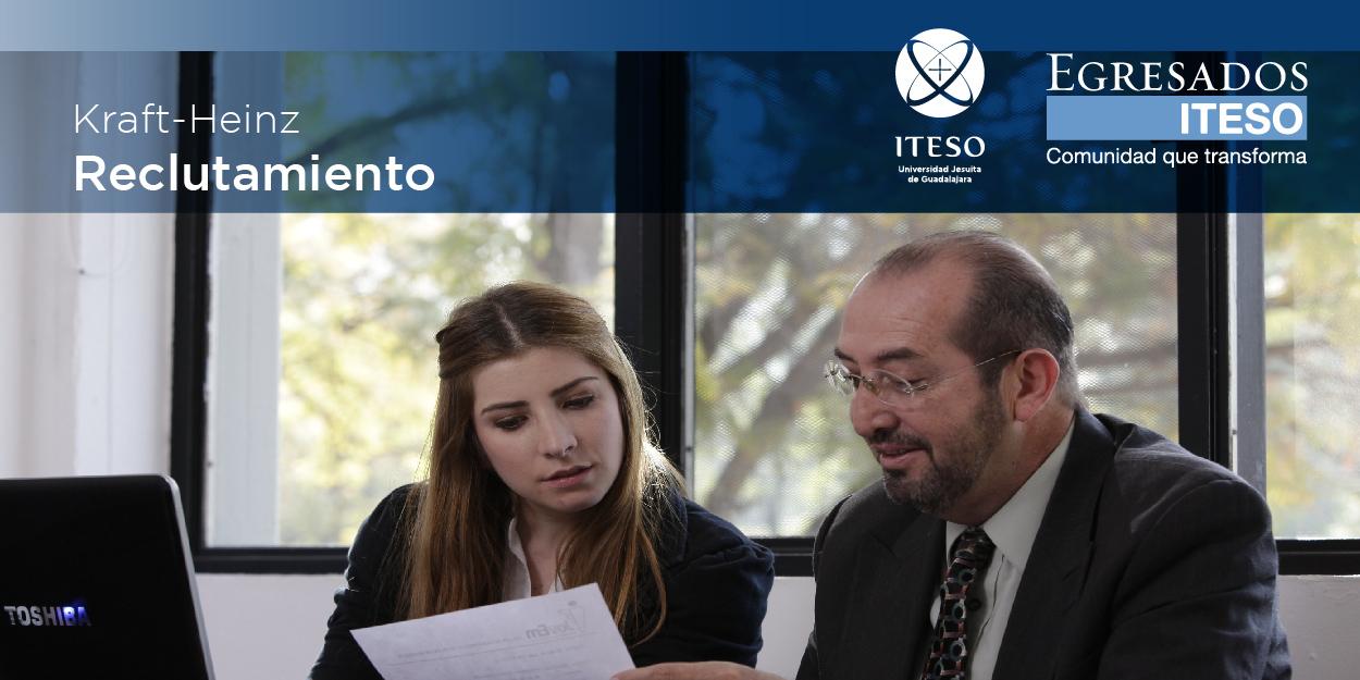 RECLUTAMIENTO DE KRAFT HEINZ COMPANY PARA EGRESADOS DEL ITESO
