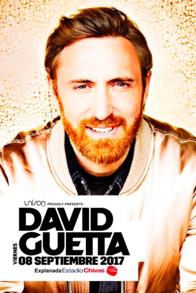DAVID GUETTA EN GUADALAJARA (SÓLO MESAS)