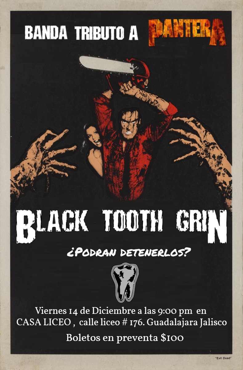 POR BLACK TOOTH GRIN
