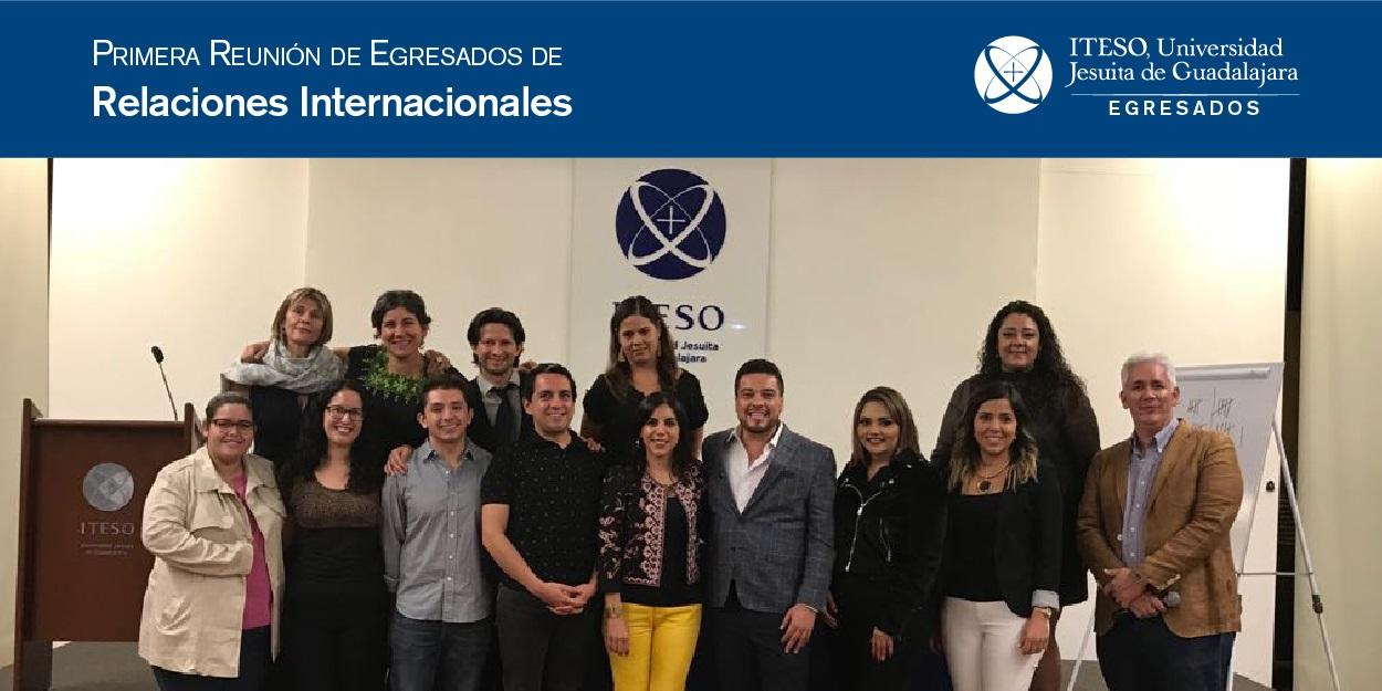 PRIMERA REUNIÓN DE GENERACIONES EGRESADAS RN ITESO