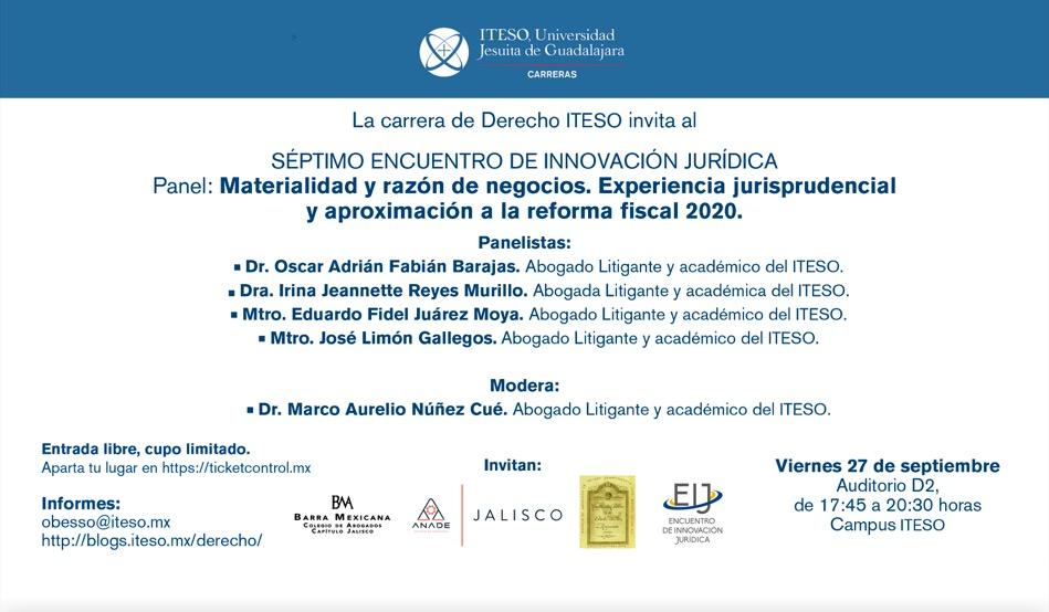 MATERIALIDAD Y RAZÓN DE NEGOCIOS. APROXIMACIÓN REFORMA FISCAL 2020