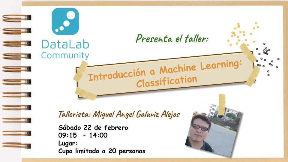 INTRODUCCIÓN A MACHINE LEARNING: CLASSIFICATION