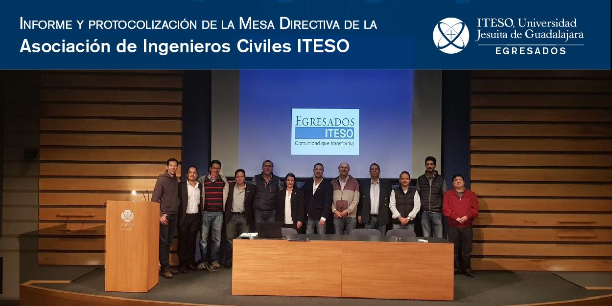 INFORME Y PROTOCOLIZACIÓN DE LA MESA DIRECTIVA DE LA ASOCIACIÓN DE EGRESADOS
